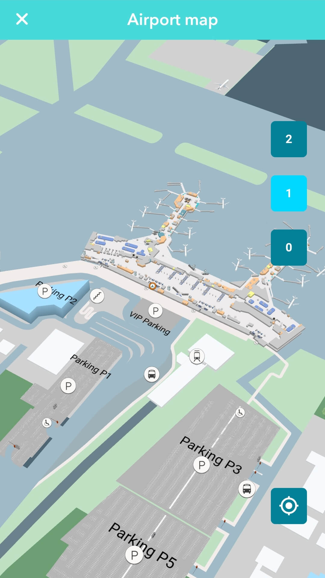Moscow Domodedovo Airport unveils 3D airport maps offering route planning