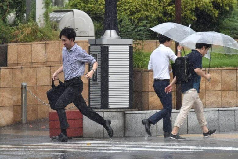 Tokyo flights canceled, train services suspended as city prepares for Typhoon Faxai