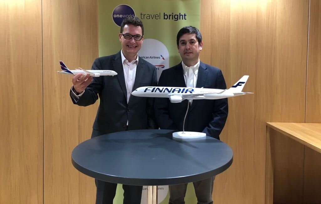 LATAM Airlines Group and Finnair announced codeshare agreement