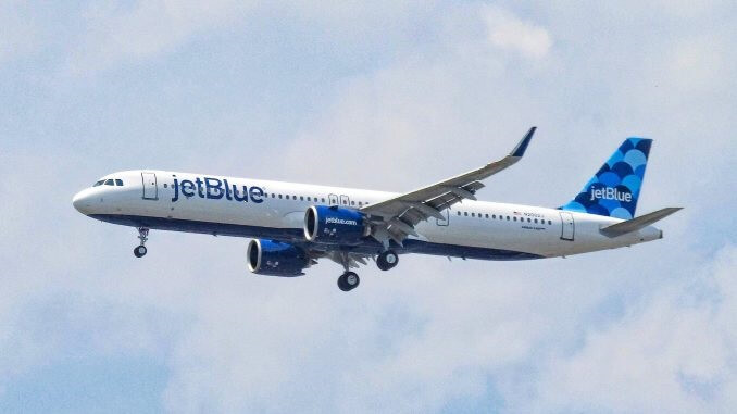 JetBlue greets Guyana with Airbus A321neo latest route