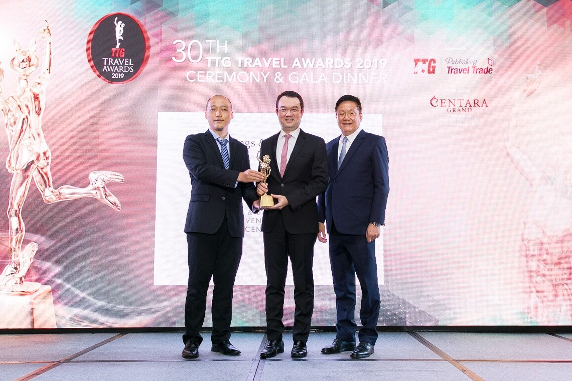 Centara honored with Best Meetings & Conventions Hotel Award for 5th consecutive year
