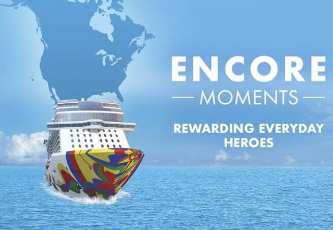 Norwegian Cruise Line Launches Encore Moments Campaign To Reward Everyday Heroes