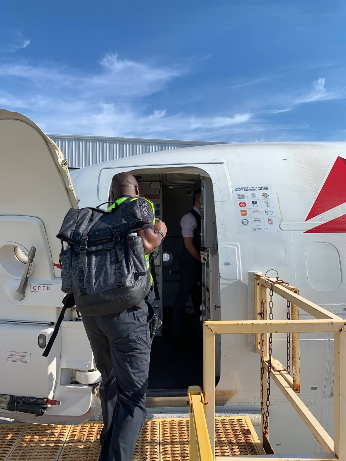 Delta relief flight to Bahamas evacuates Dorian survivors, delivers 4,700 pounds of supplies