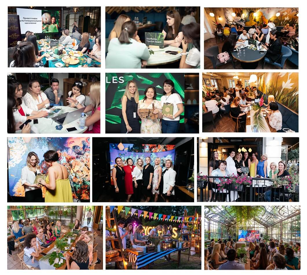 "The Seychelles Islands celebrate annual ""Endless Summer"" roadshow in CIS region"