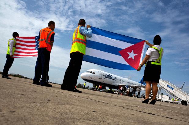 US bans air service to all Cuban airports