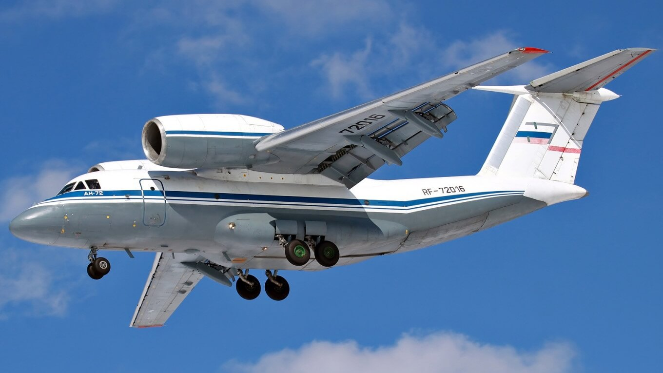 8 people killed in Russian An-72 plane crash in Congo