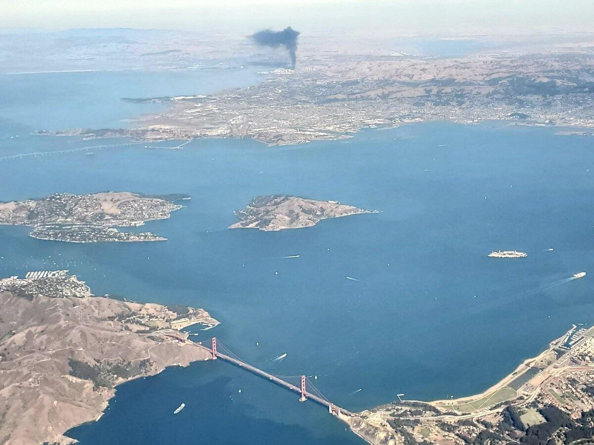 Huge explosion and fire near San Francisco trigger 'HAZMAT emergency'
