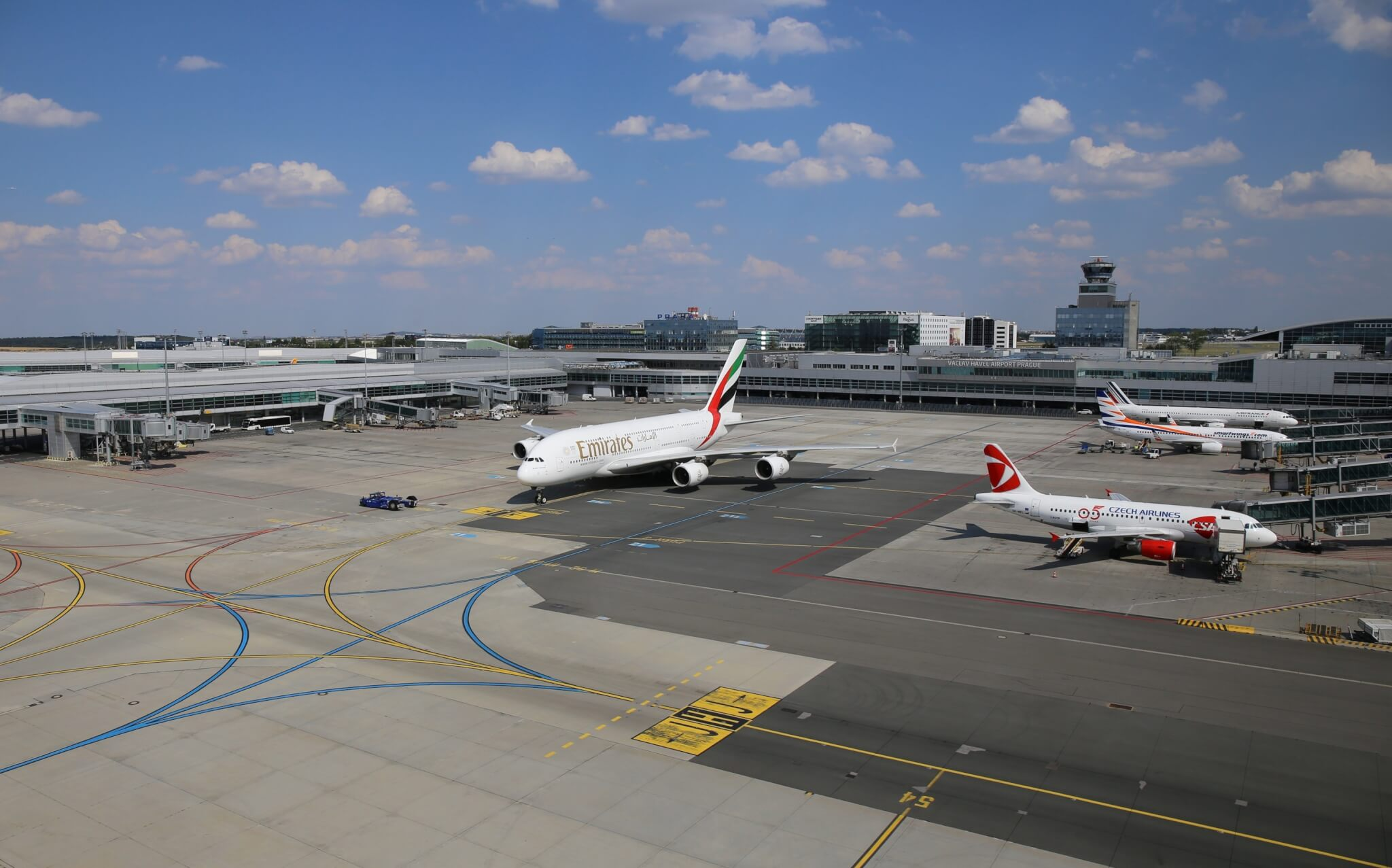 Václav Havel Airport Prague: 121 destinations in 46 countries this winter