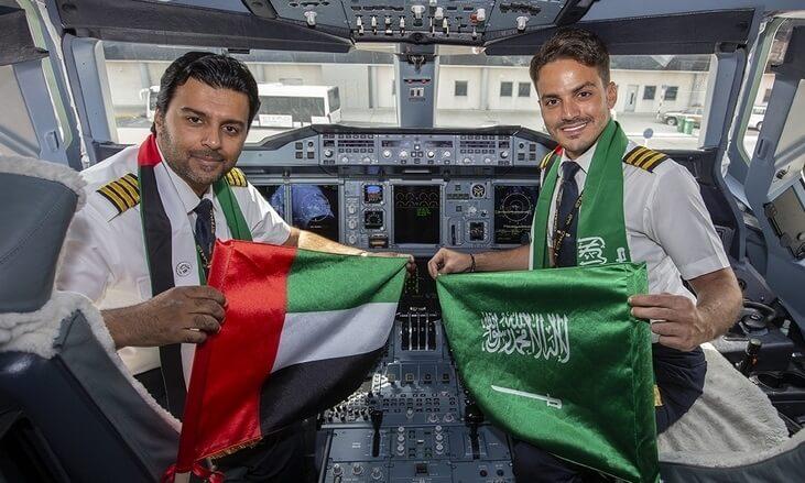 Etihad Airways and Saudia announce 12 new codeshare routes