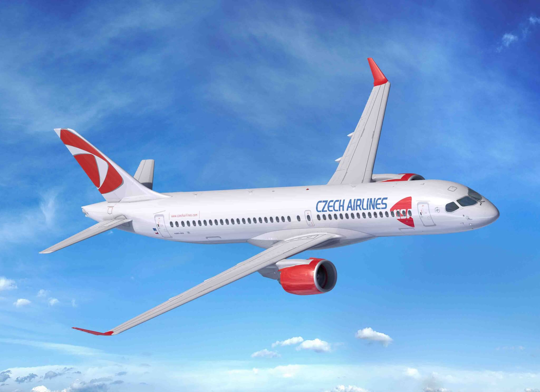 Czech Airlines orders 4 Airbus A220 jets, upsizes 3 A320neo to A321XLR