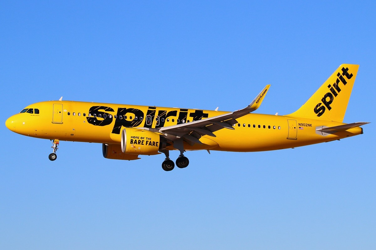 Spirit Airlines to buy up to 100 Airbus A320neo Family aircraft