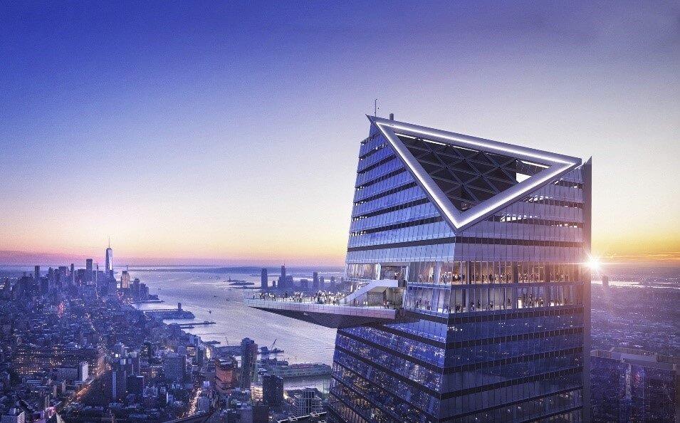 Western Hemisphere's highest outdoor observation deck to open in New York City