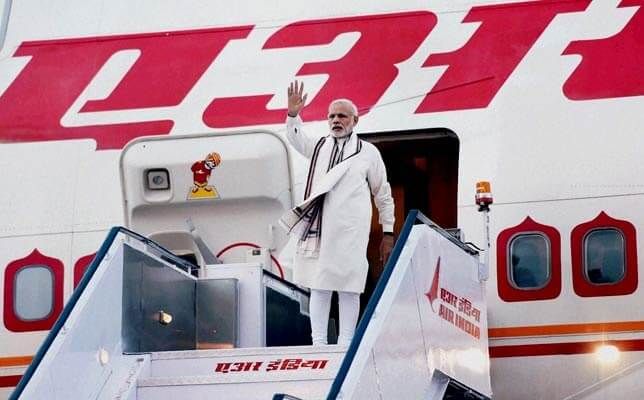 Indian Prime Minister denied use of Pakistani airspace