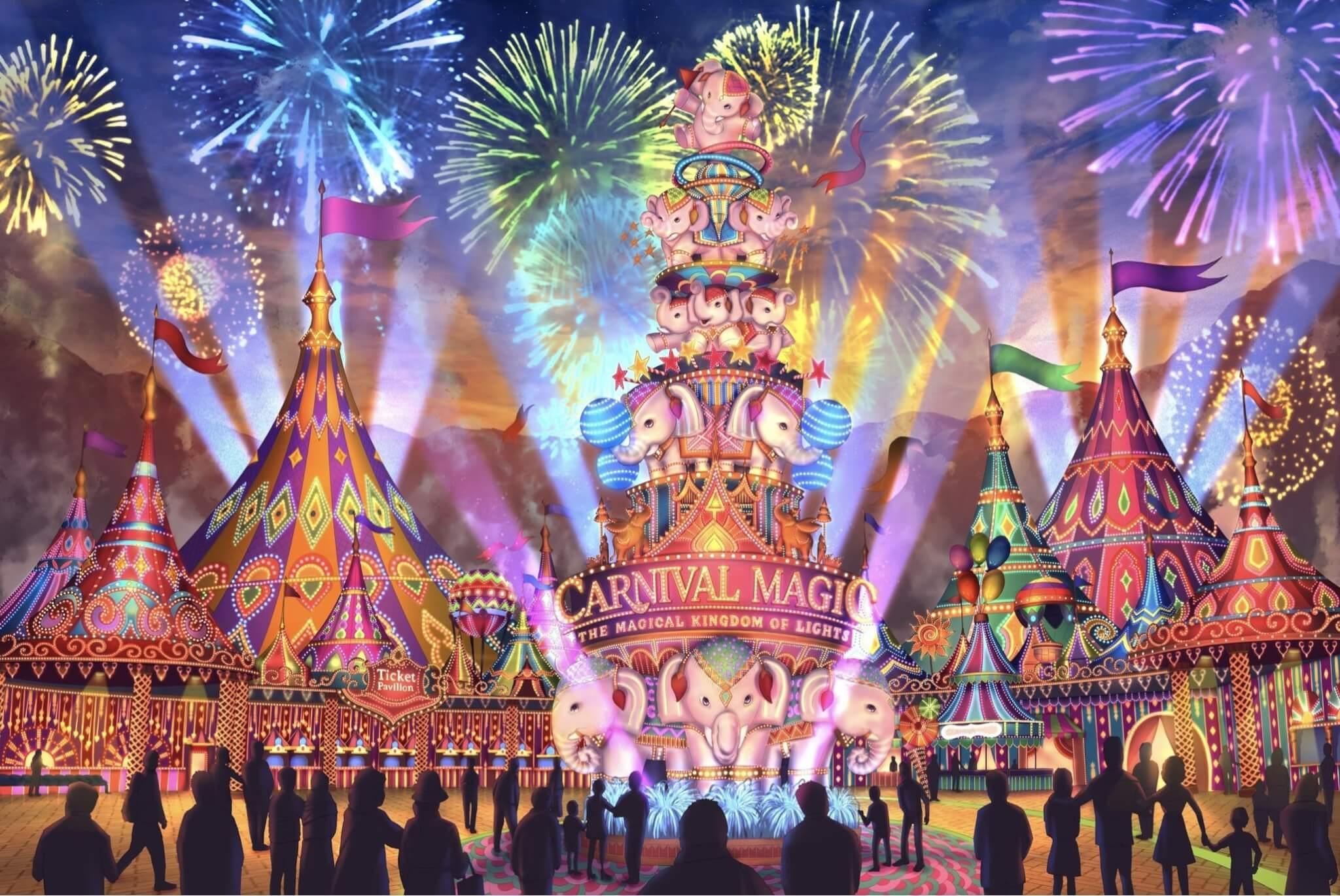 World S First Thai Carnival Theme Park Opens In Phuket