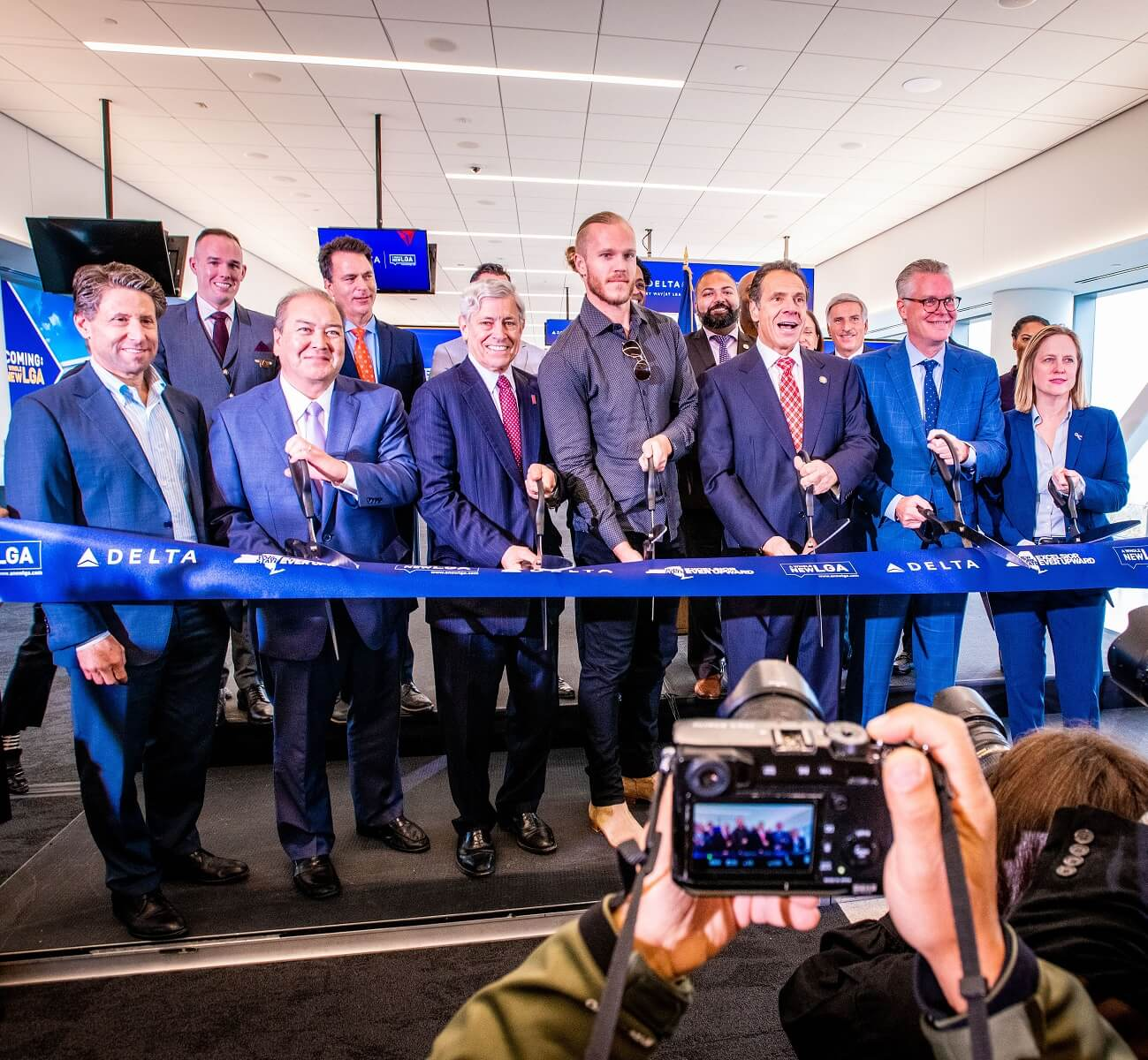 Delta Air Lines opens first new concourse at LaGuardia Airport