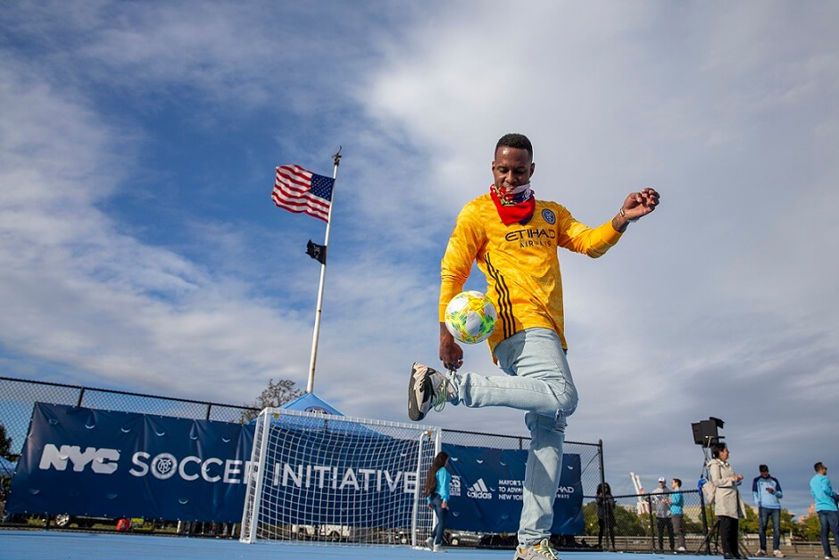 Etihad Airways New York City Soccer Initiative celebrates 30 city-wide mini-pitches