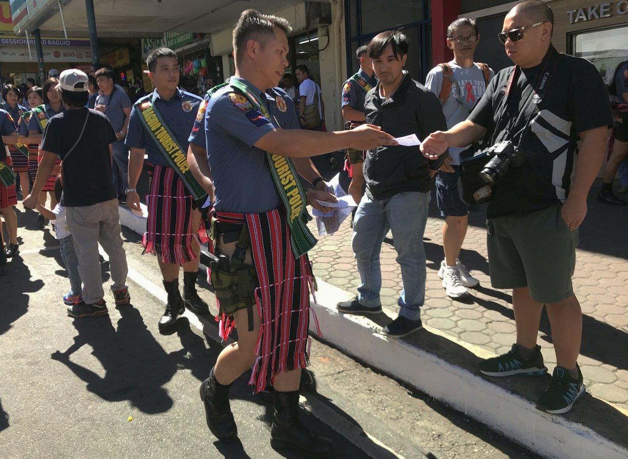 Keeping Philippine tourism safe: Tourism Police on Luzon Island