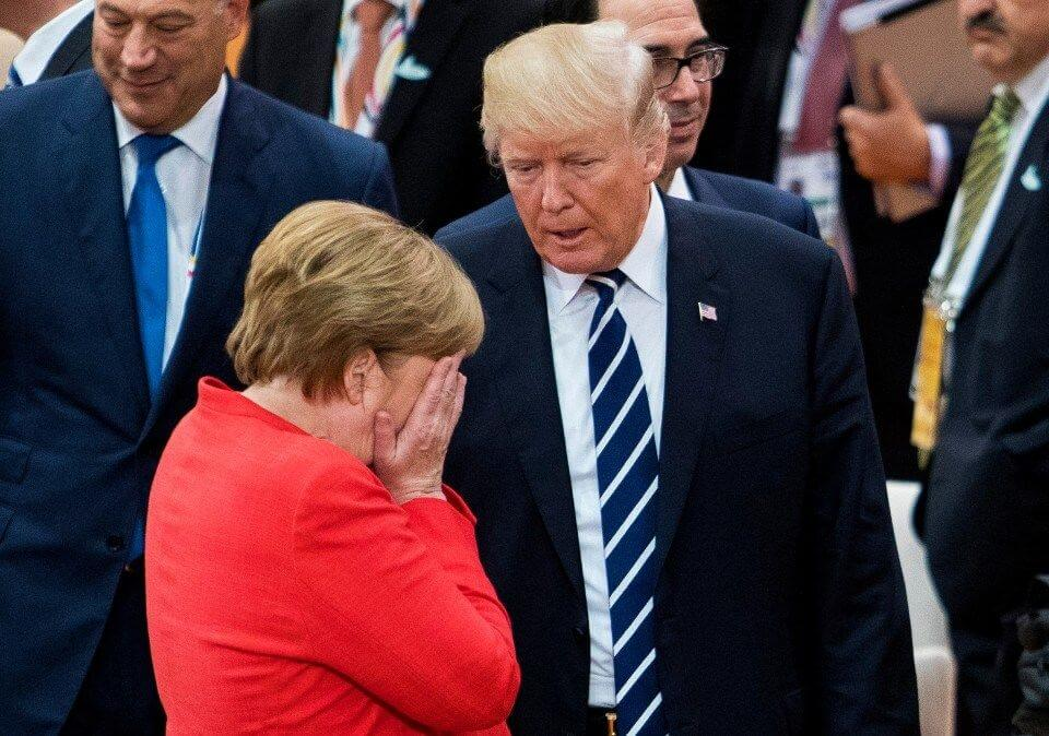 How Trump punished Merkel on German Unity Day over Airbus and Boeing