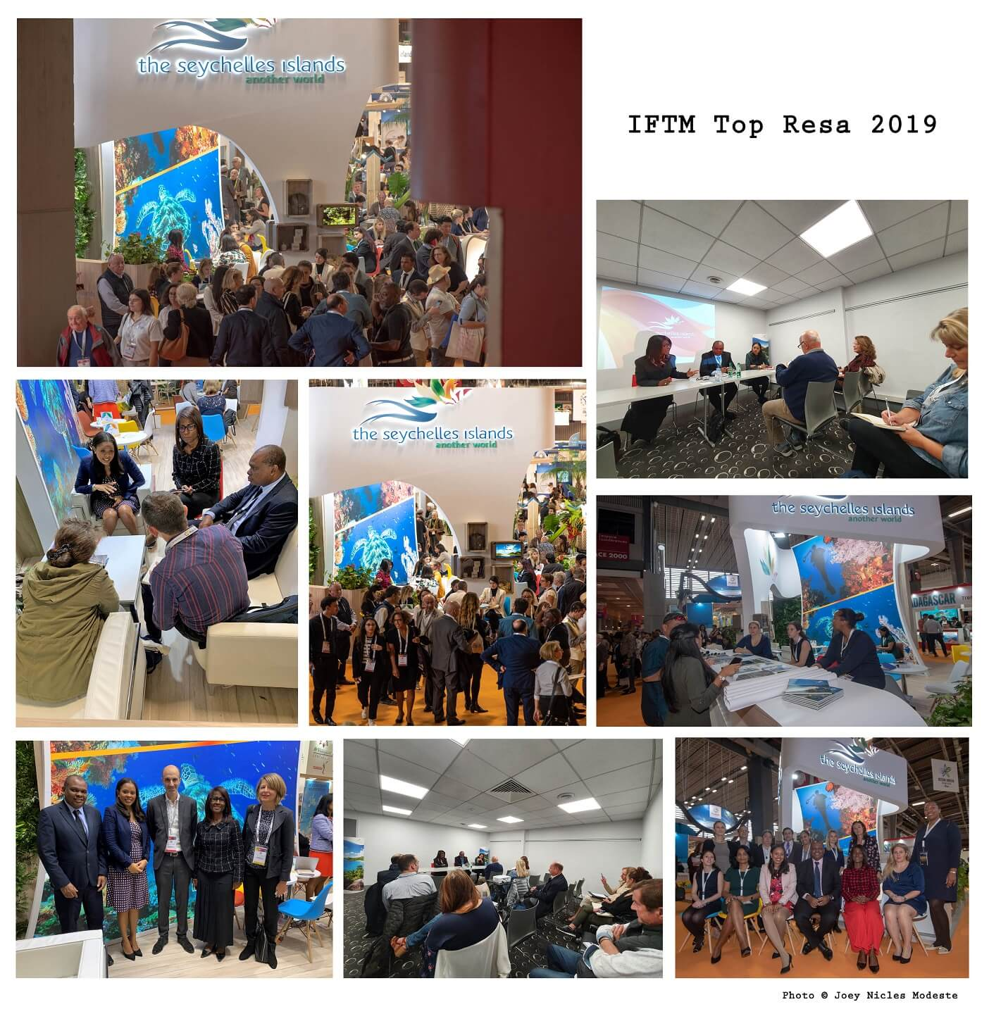 Eventful 3 days for Seychelles delegation led by Tourism Minister at IFTM Top Resa 2019