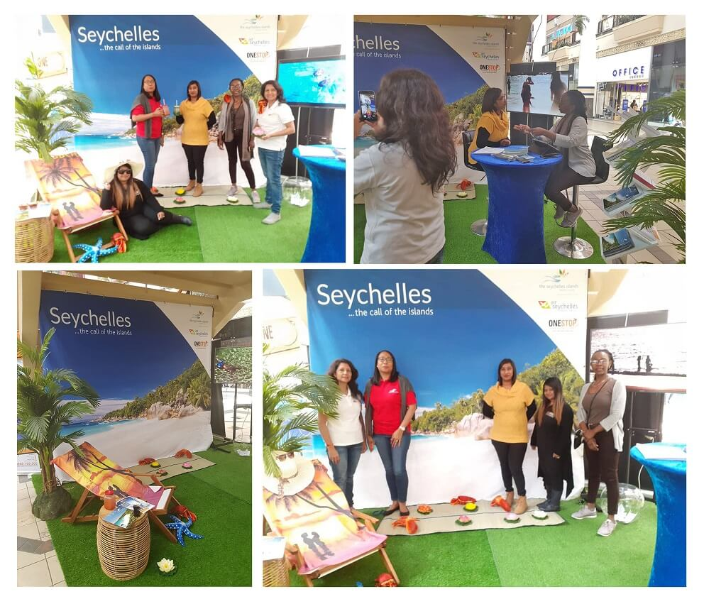 Seychelles' tropical ambience spreads in Durban's shopping mall