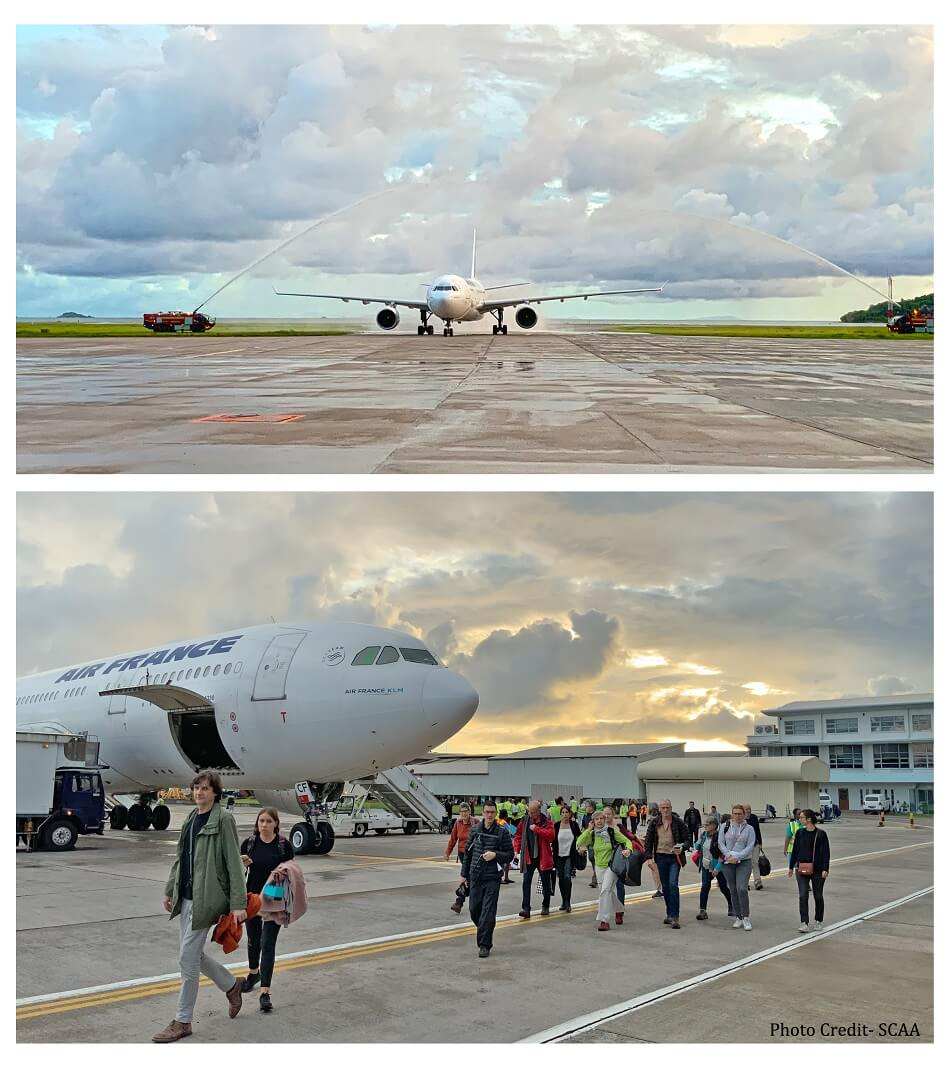 Seychelles welcomes back Air France