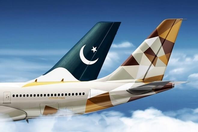Etihad and Pakistan International Airlines re-launch codeshare partnership