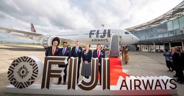 Fiji Airways takes delivery of first of its two Airbus A350 XWBs