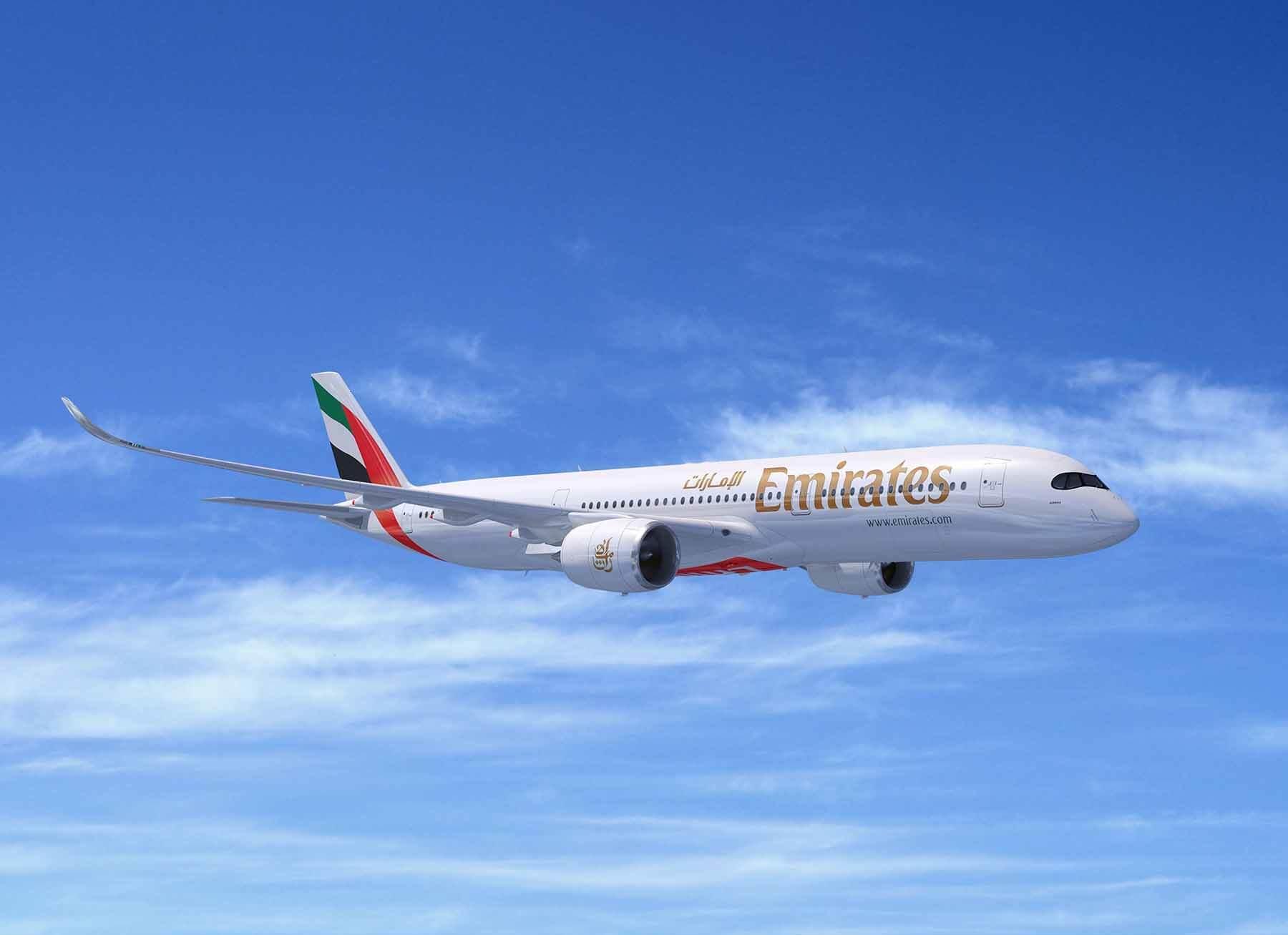 Emirates Airline orders 50 Airbus A350XWB jets at Dubai Airshow 2019
