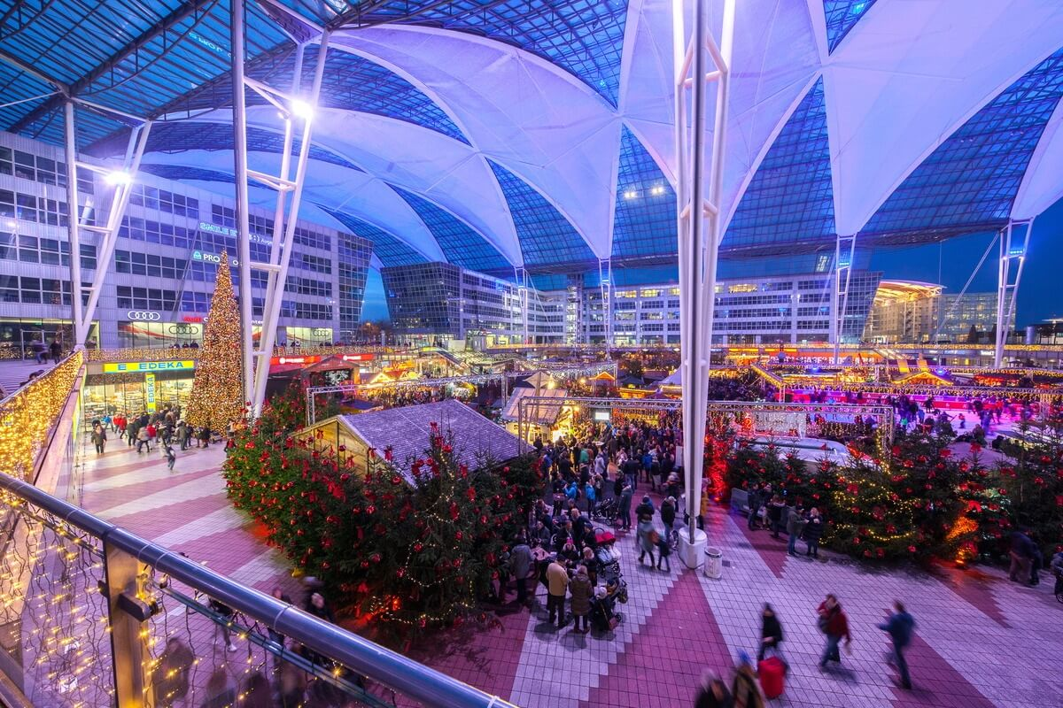 Munich Airport opens its annual Christmas and Winter Market | Buzz travel, German Tourism Board