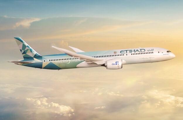 Etihad Airways and Boeing unveil the 'Etihad Greenliner'