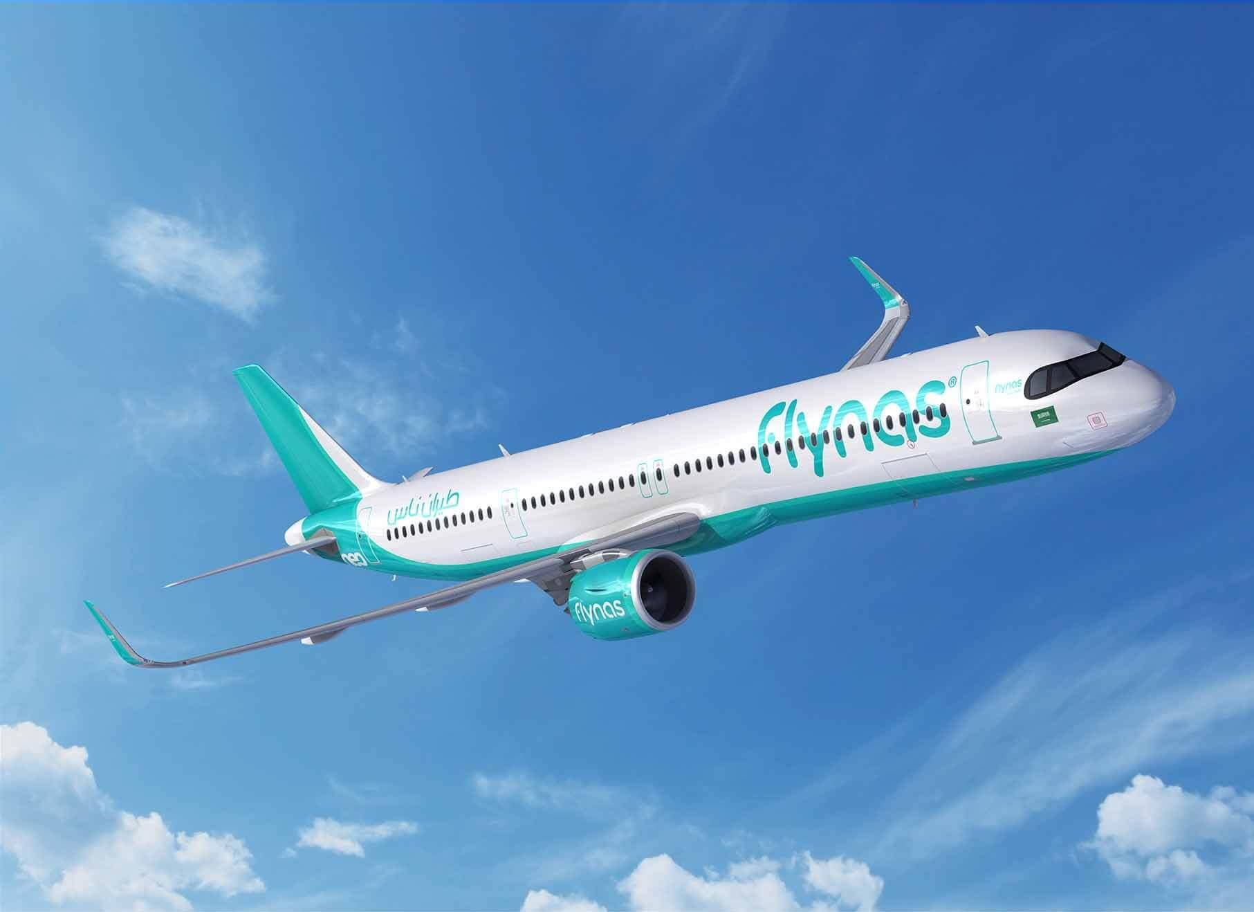 Saudi Arabia's flynas orders 10 A321XLR jets at 2019 Dubai Airshow