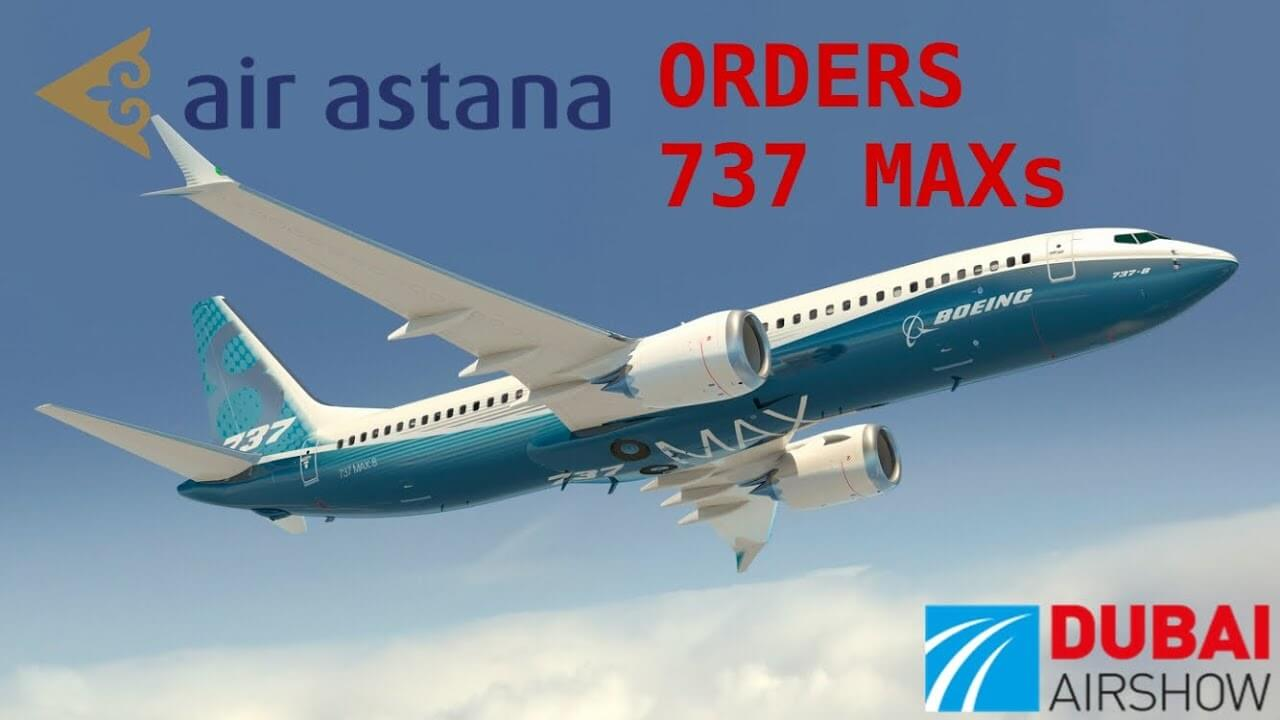 Air Astana to buy 30 Boeing 737 MAX jets
