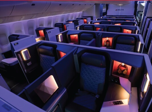 Delta Air Lines rolls out remodeled interiors on key routes | BUZZ.travel breaking news