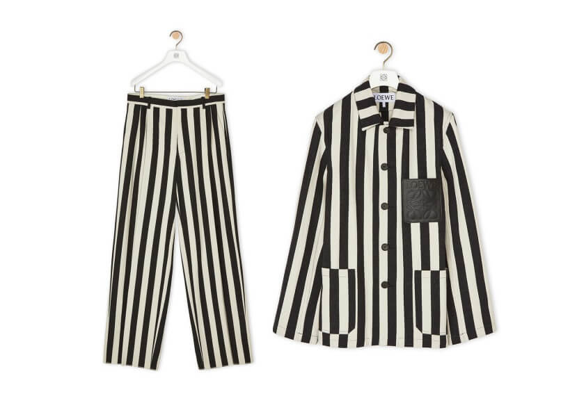 Loewe luxury fashion house: Look like a Nazi camp prisoner for only $950