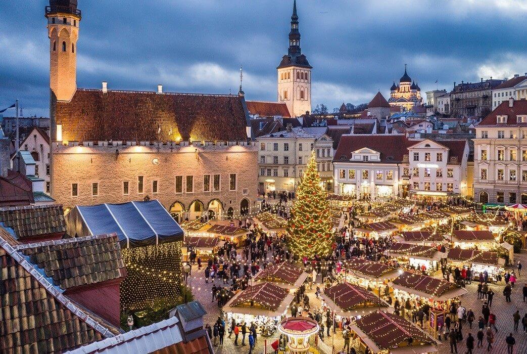 Tallinn, Estonia is UK's most Googled European Christmas travel destination