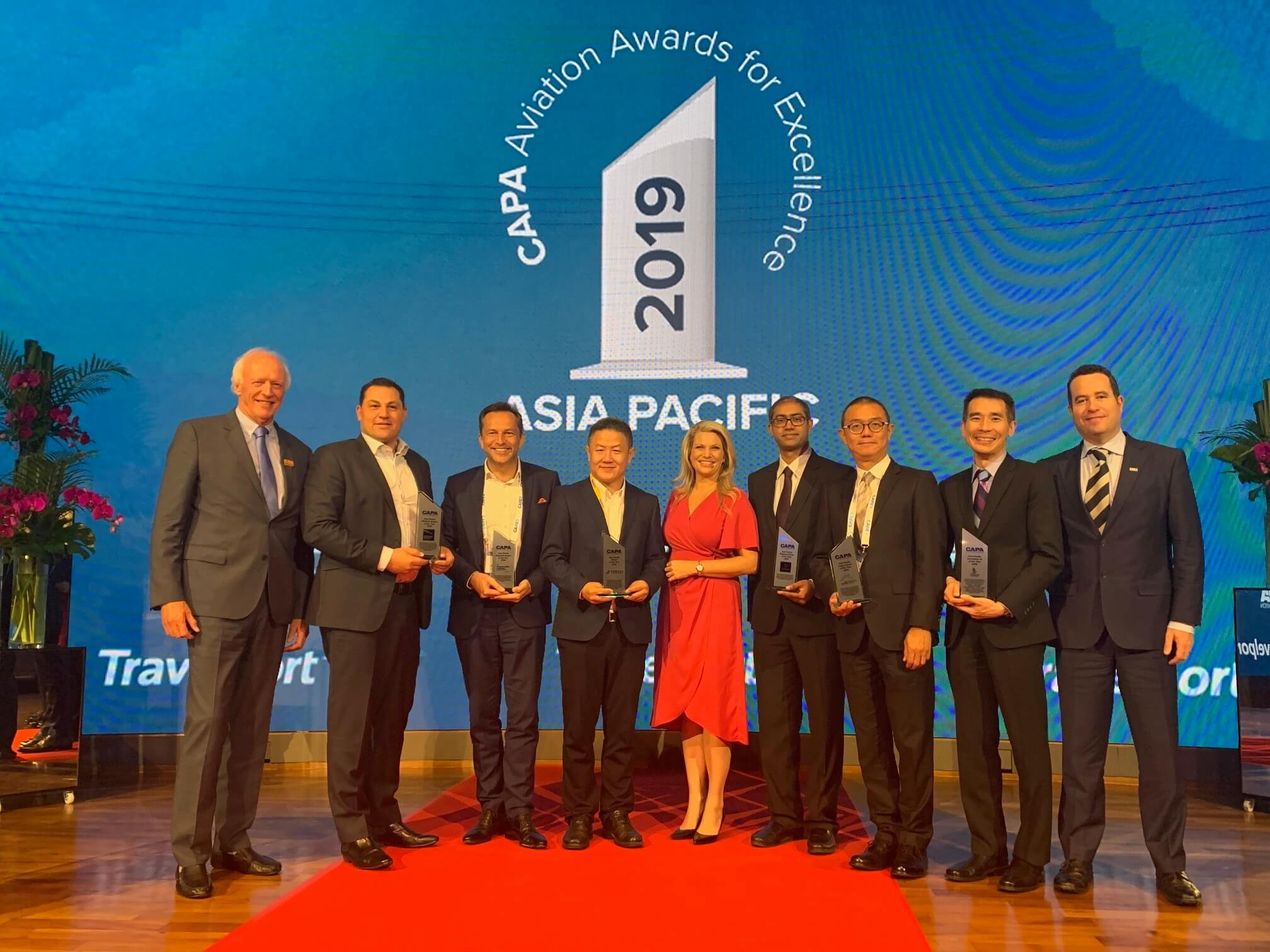 Asia Pacific aviation leaders recognized at CAPA event in Singapore