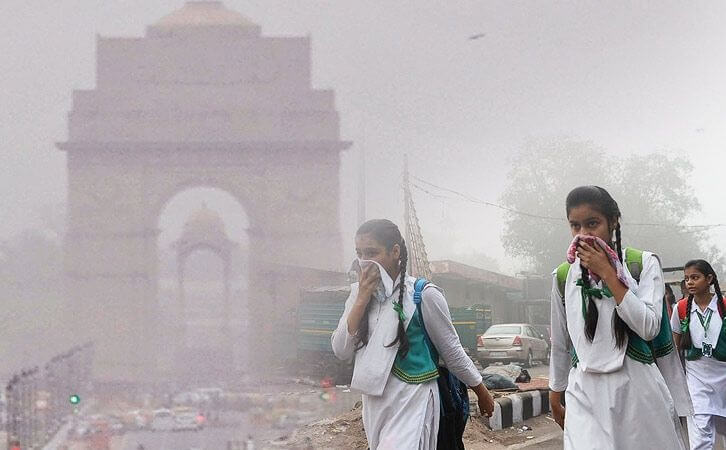 Delhi city official: India's capital has turned into a gas chamber