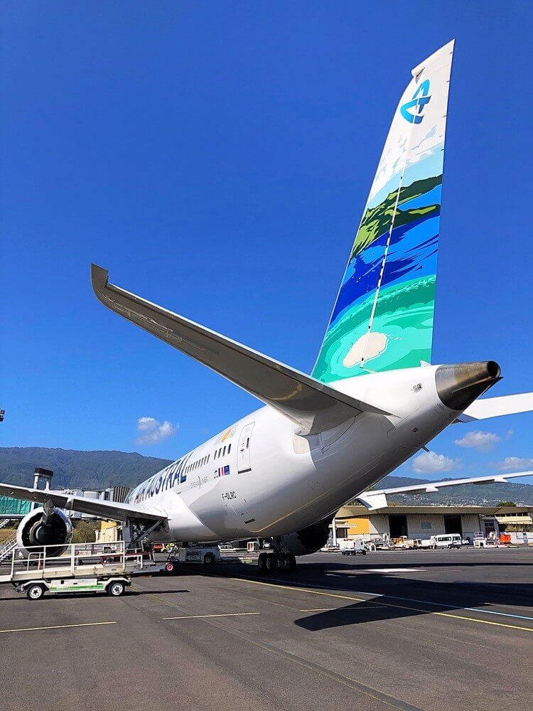 Air Austral: Return of the Dreamliner in the colors of the lagoon