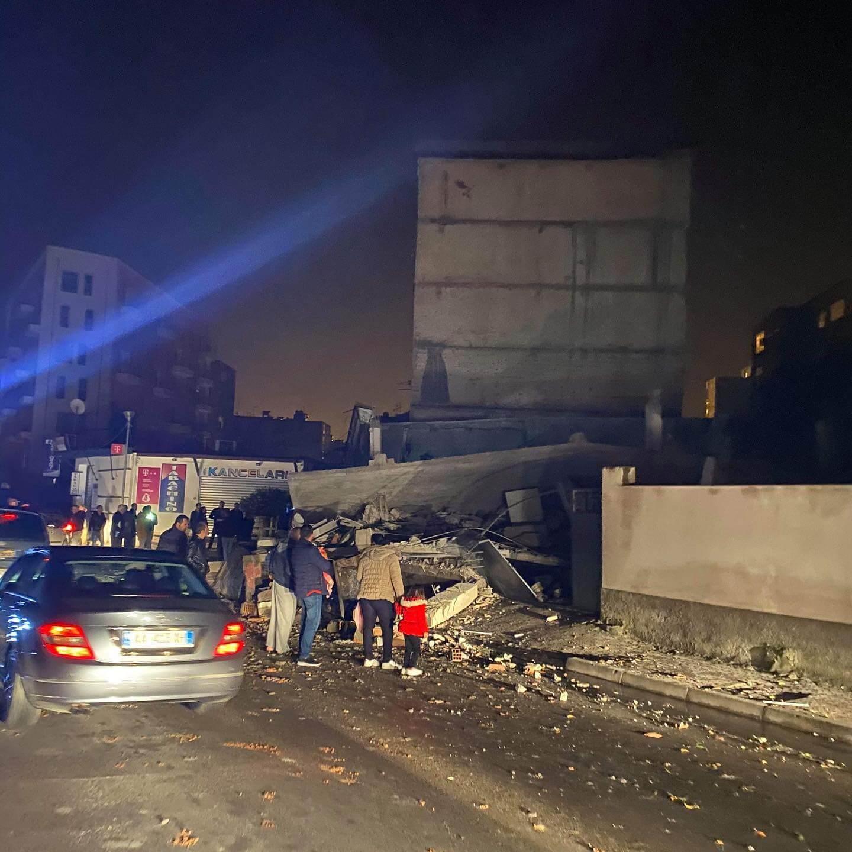 Albania earthquake potential of widespread casualties