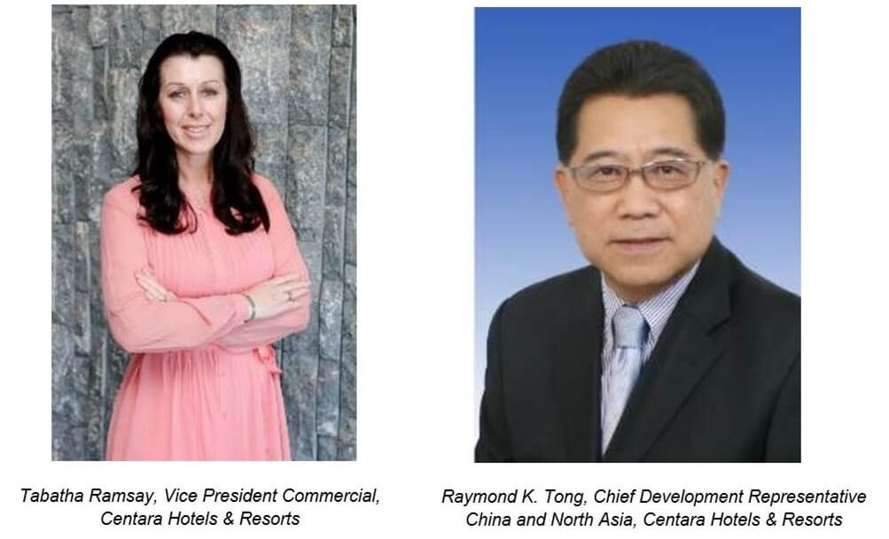 Centara strengthens management team with key Commercial and Development appointments