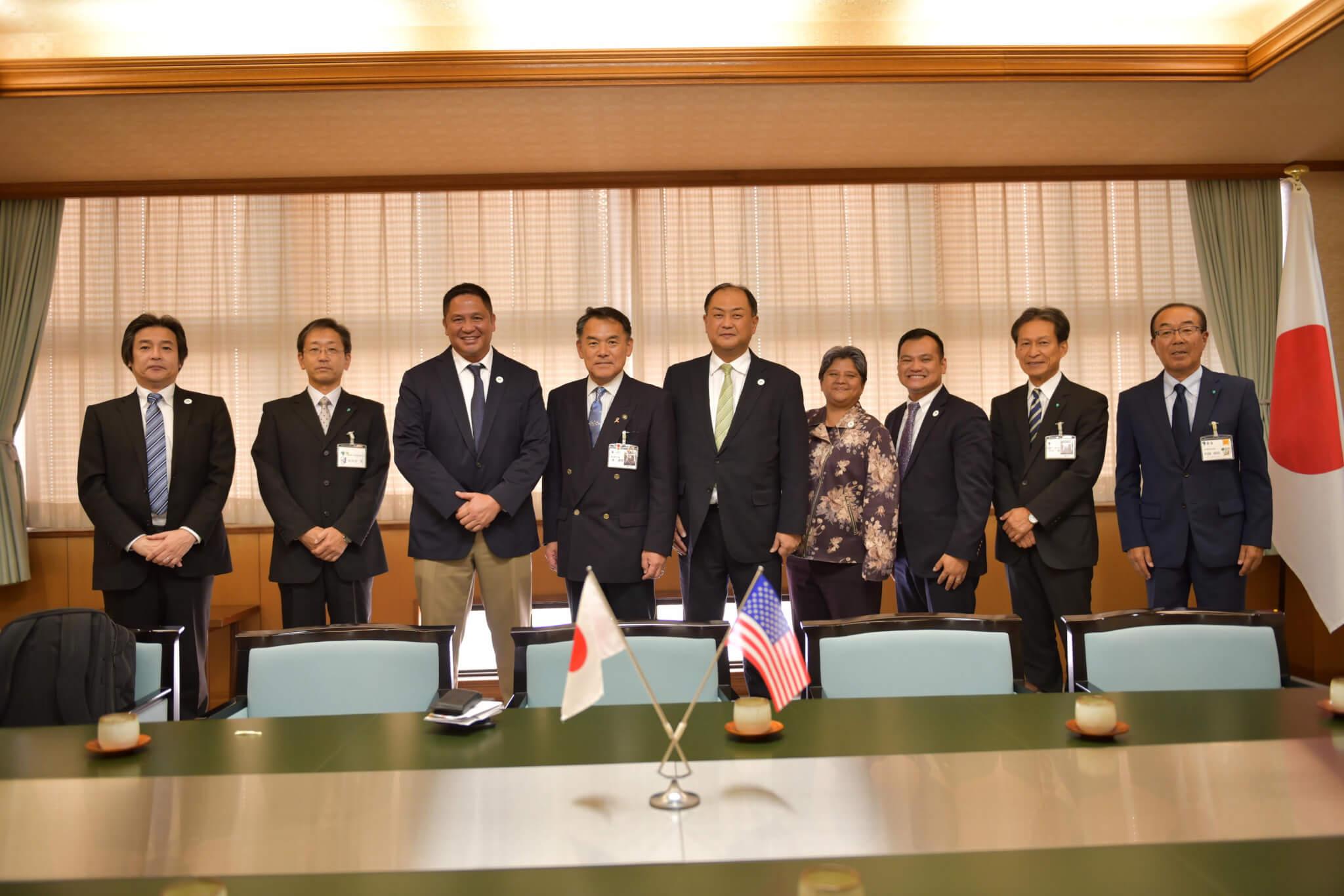 Guam and Karatsu friendship strengthened in Japan