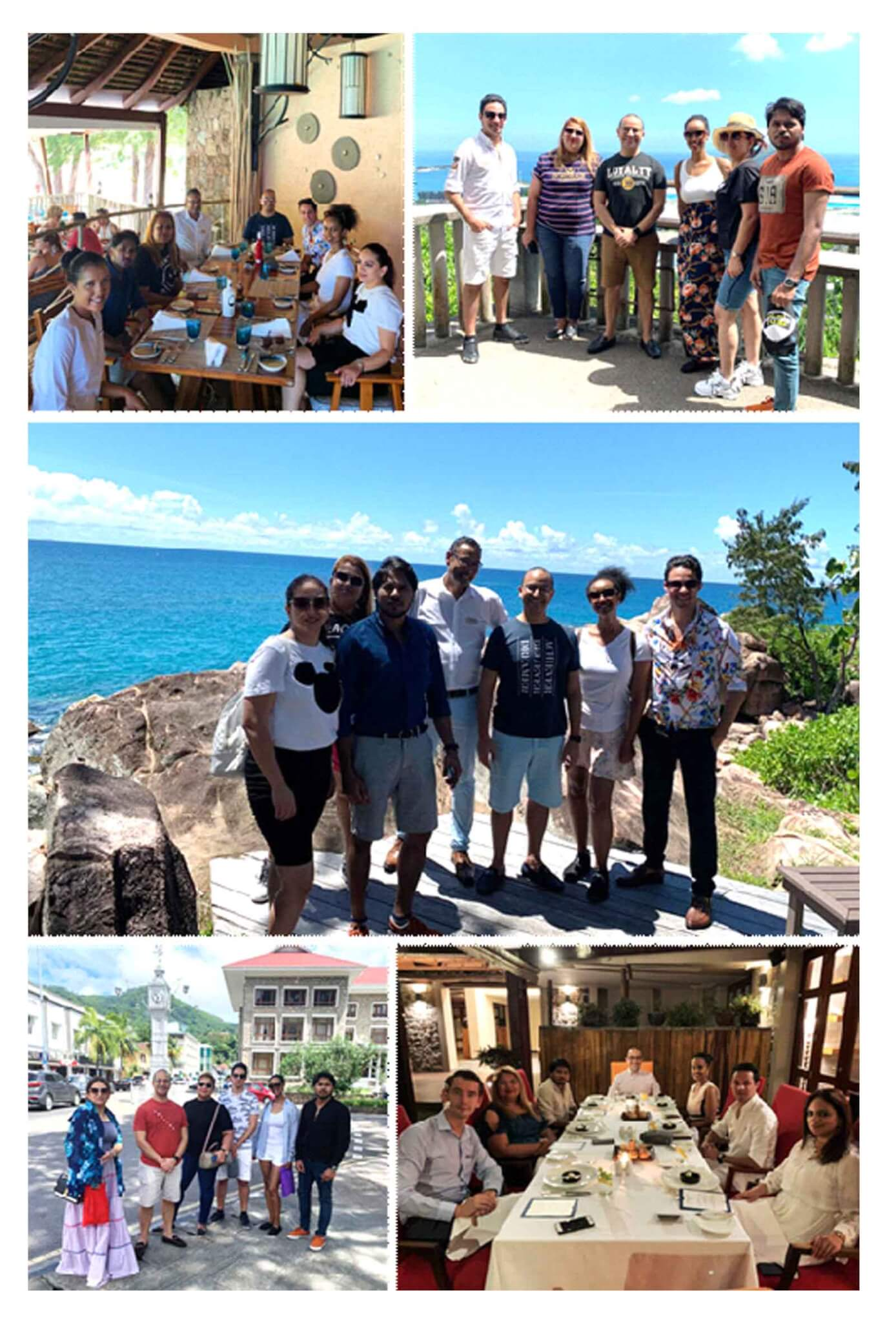 Top-selling agents of Emirates Holidays visit Seychelles on FAM trip