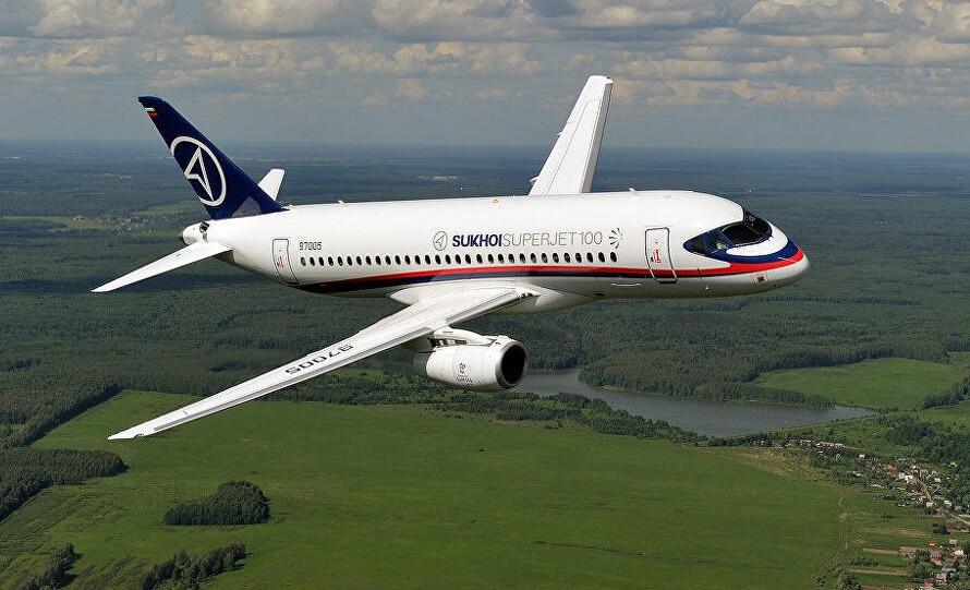 Russia considering selling 16 Sukhoi Superjet SSJ-100 planes to Pakistan