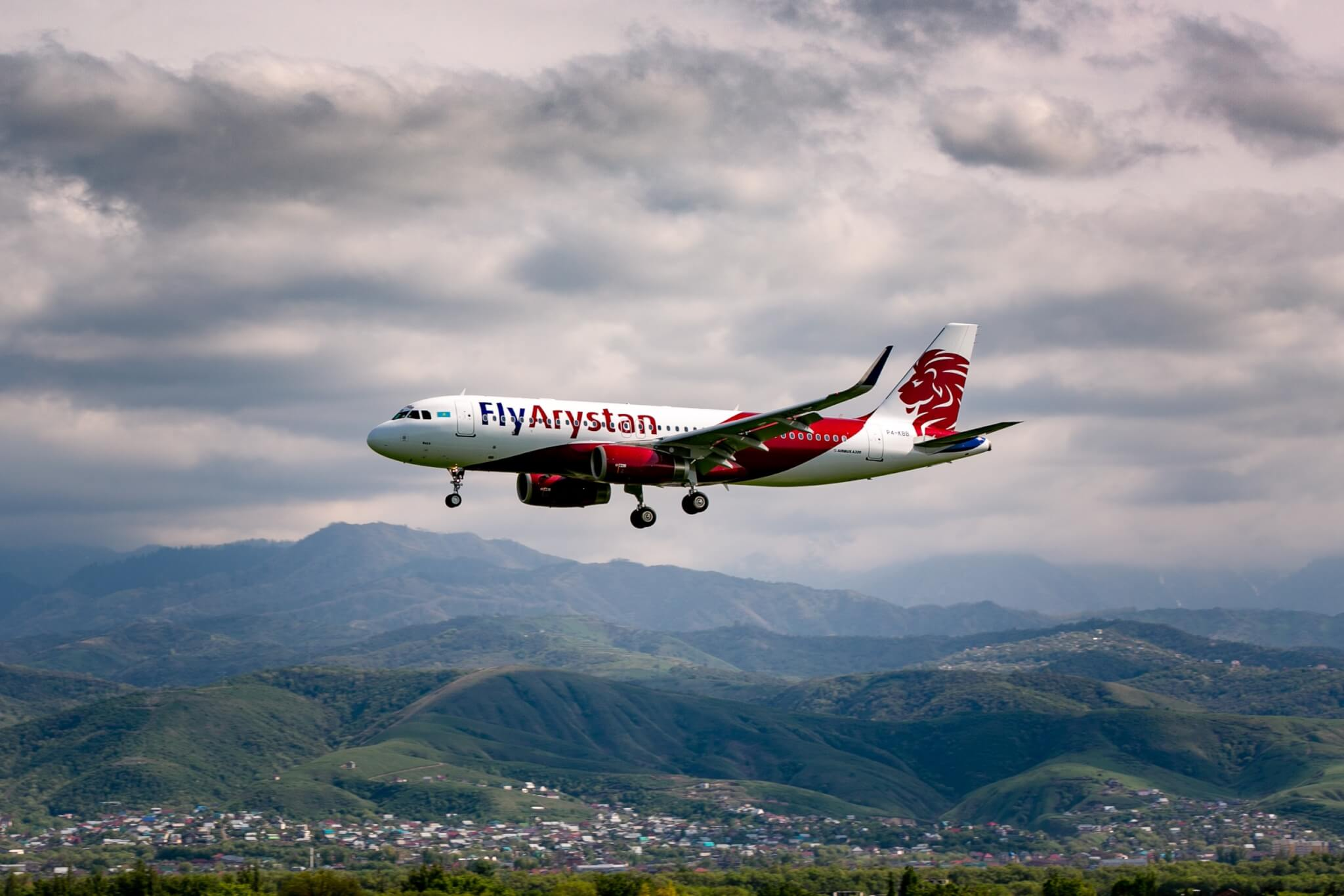 Kazakhstan's first low-cost airline launches its first international route