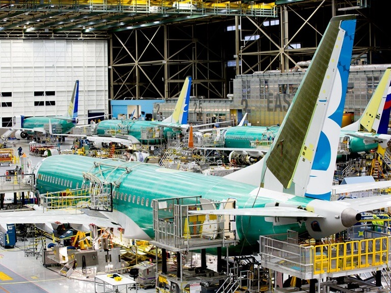 Boeing halts the production of its troubled 737 MAX plane