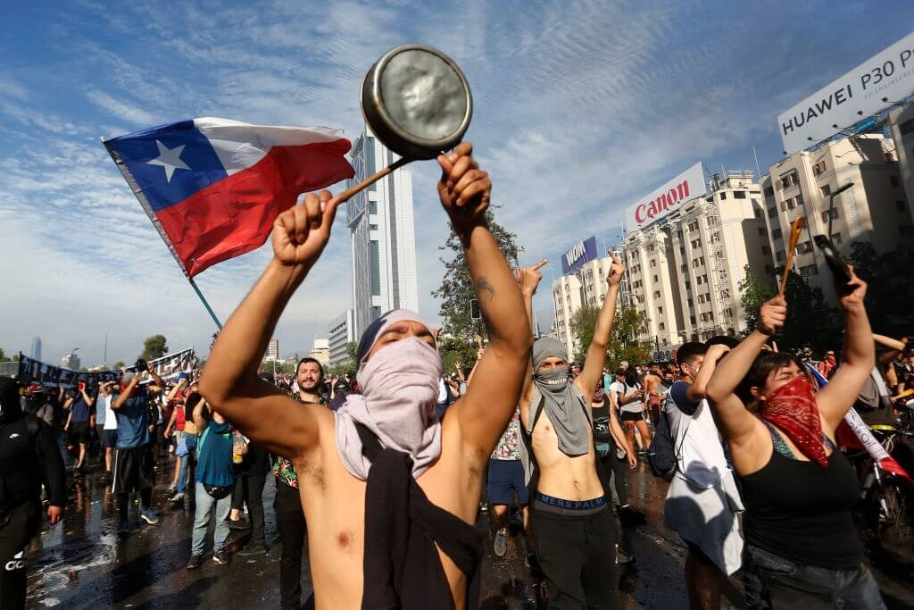 Riots have taken heavy toll on Chile tourism