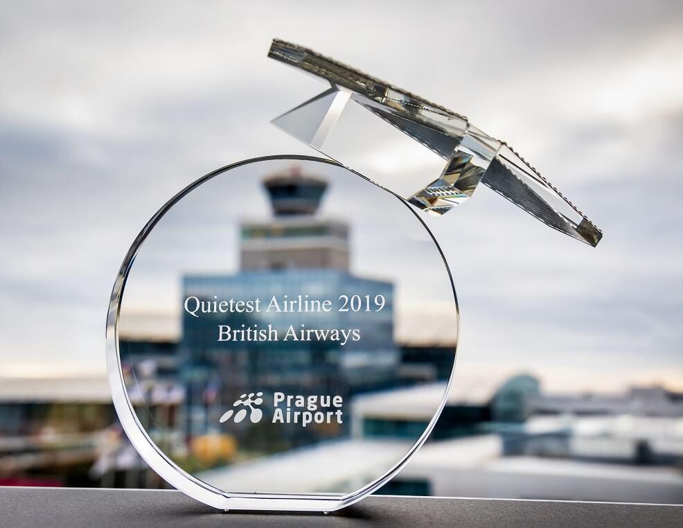 Prague Airport names British Airways the QUIETEST AIRLINE