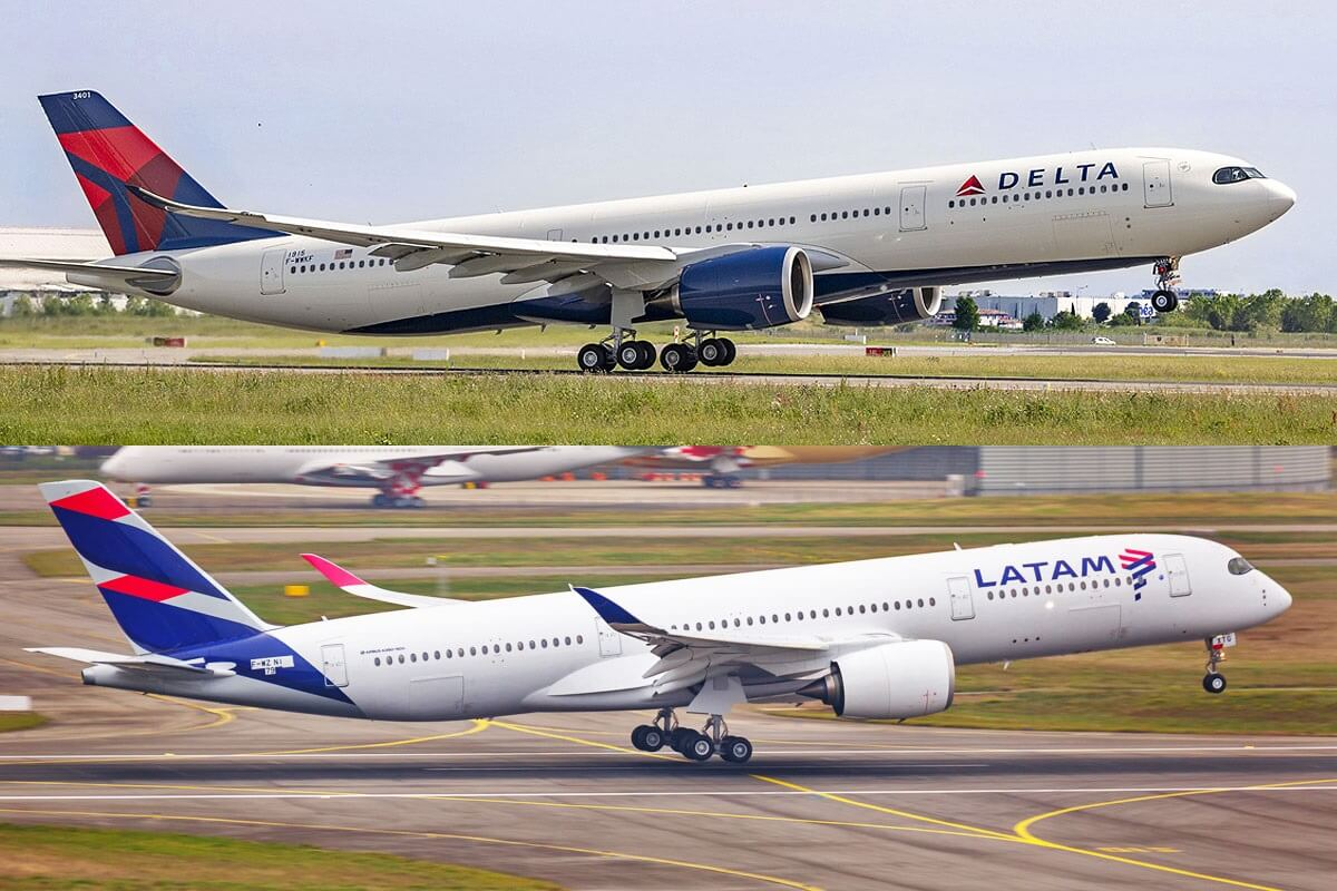 Delta Air Lines and LATAM to launch codeshare in Colombia, Ecuador and Peru