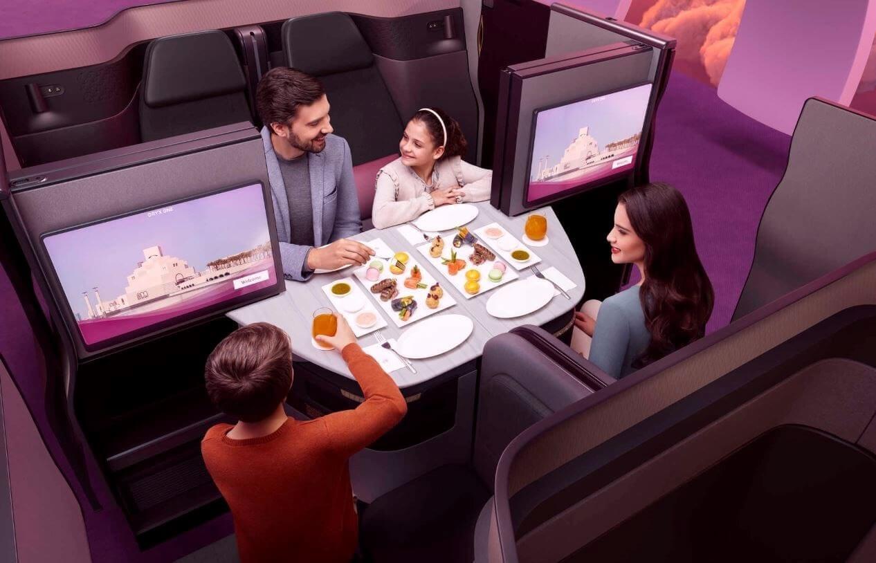 Qatar Airways introduces Qsuite on Atlanta and Miami flights
