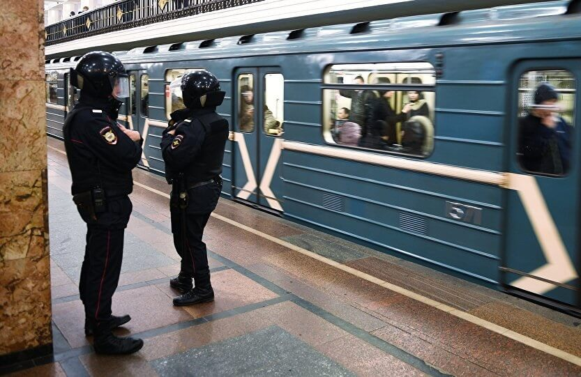 Anonymous call triggers bomb scare at Moscow Metro